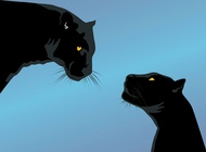 Link toBlack panthers vector free