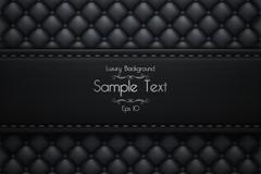 Link toBlack sofa leather background vector