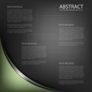 Link toBlack style business template background 03 free