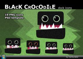 Link toBlackcrocodile dock icons