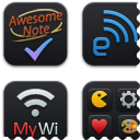 Link toBlack'ups icons for ipod