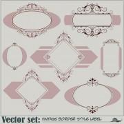 Link toBlank frames design vector collection 04 free