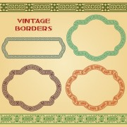Link toBlank frames design vector collection 10 free