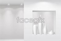 Link toBlank indoor showroom template vector 1