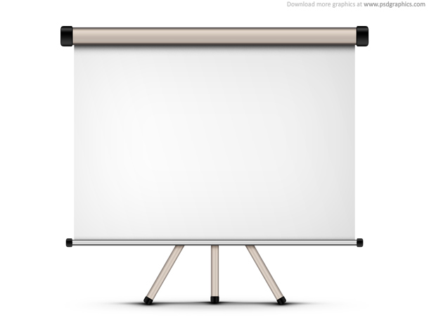 Link toBlank projection screen (psd)