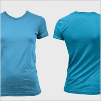 Link toBlank trend of female models shortsleeved tshirt template gomedia produced psd layered 2