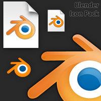 Link toBlender icon pack v2