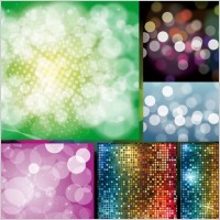 Link toBling bling shiny dissolved figure vector background