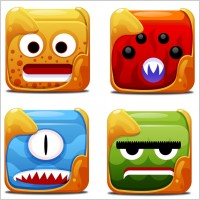 Link toBlock creatures icons icons pack