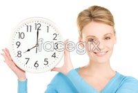 Link toBlonde beauty and the clock high definition pictures