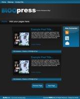 Link toBloopress v .01 theme x-troder