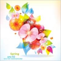 Link toBlossoming patterns 01 vector