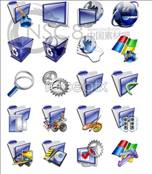Link toBlue and purple system icons