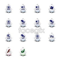 Link toBlue and white porcelain file icon