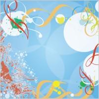 Link toBlue background splash vector desig