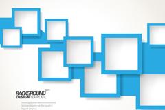 Link toBlue box background vector