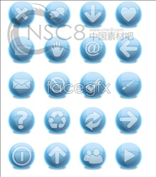 Link toBlue button desktop icons