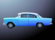 Link toBlue car vector free