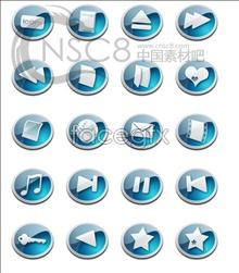 Link toBlue cartoon-crystal button