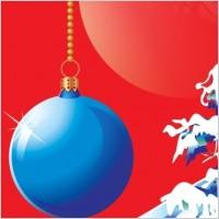 Link toBlue christmas vector design theme