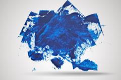 Link toBlue color ink graffiti background vector