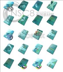 Link toBlue computer file icon