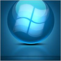 Link toBlue cool texture logo psd layered