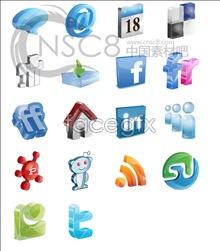 Link toBlue crystal desktop icons