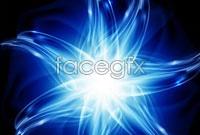 Link toBlue dream light effect background vector