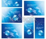 Link toBlue earth science and technology vector