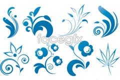 Link toBlue elegant pattern vector