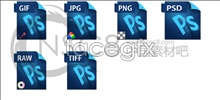 Link toBlue files desktop icons