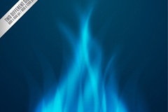 Link toBlue flame background vector