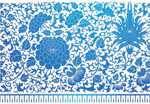 Link toBlue flower pattern vector