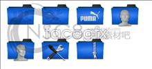 Link toBlue folders table