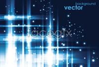 Link toBlue glare background vector ii