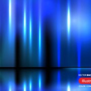 Link toBlue glow creative background vector free