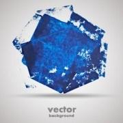 Link toBlue grunge background design vector 02
