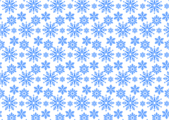Link toBlue ice crystal snowflake background vector