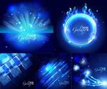 Link toBlue light effect background vector
