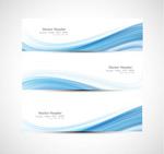 Link toBlue line banner vector