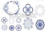 Link toBlue line pattern vector