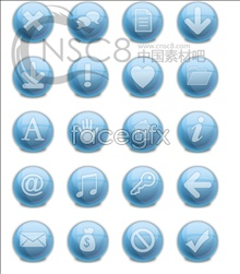 Link toBlue magic light balls marked series icons