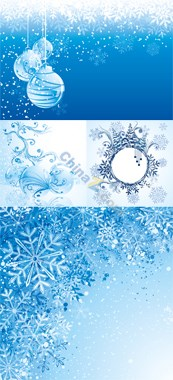 Link toBlue new year card vector design template
