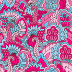 Link toBlue patterned background vector