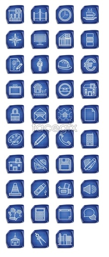 Link toBlue plaid computer icons