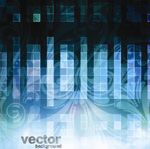 Link toBlue plaid vector