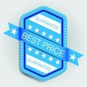 Link toBlue sale labels vector set 05