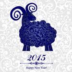 Link toBlue sheep vector