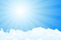 Link toBlue sky clouds vector